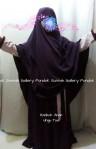 Gamis Hanbok Anak Ungu Tua