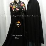Hijab Cadar Semi Hanbok Hitam