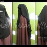 Purdah Arabian Niqab Abu abu