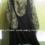 baju muslim dewasa SC - Overall hitam