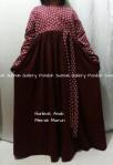 Gamis Hanbok Anak Merah Marun