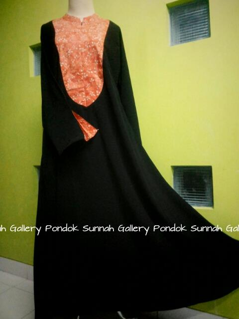 gamis cadar abaya payung oval
