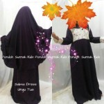 gamis anak perempuan salma dress ungu