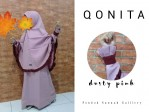 Gamis Qonita Kids Dusty Pink