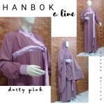 Gamis A-Line Hanbok Dusty Pink